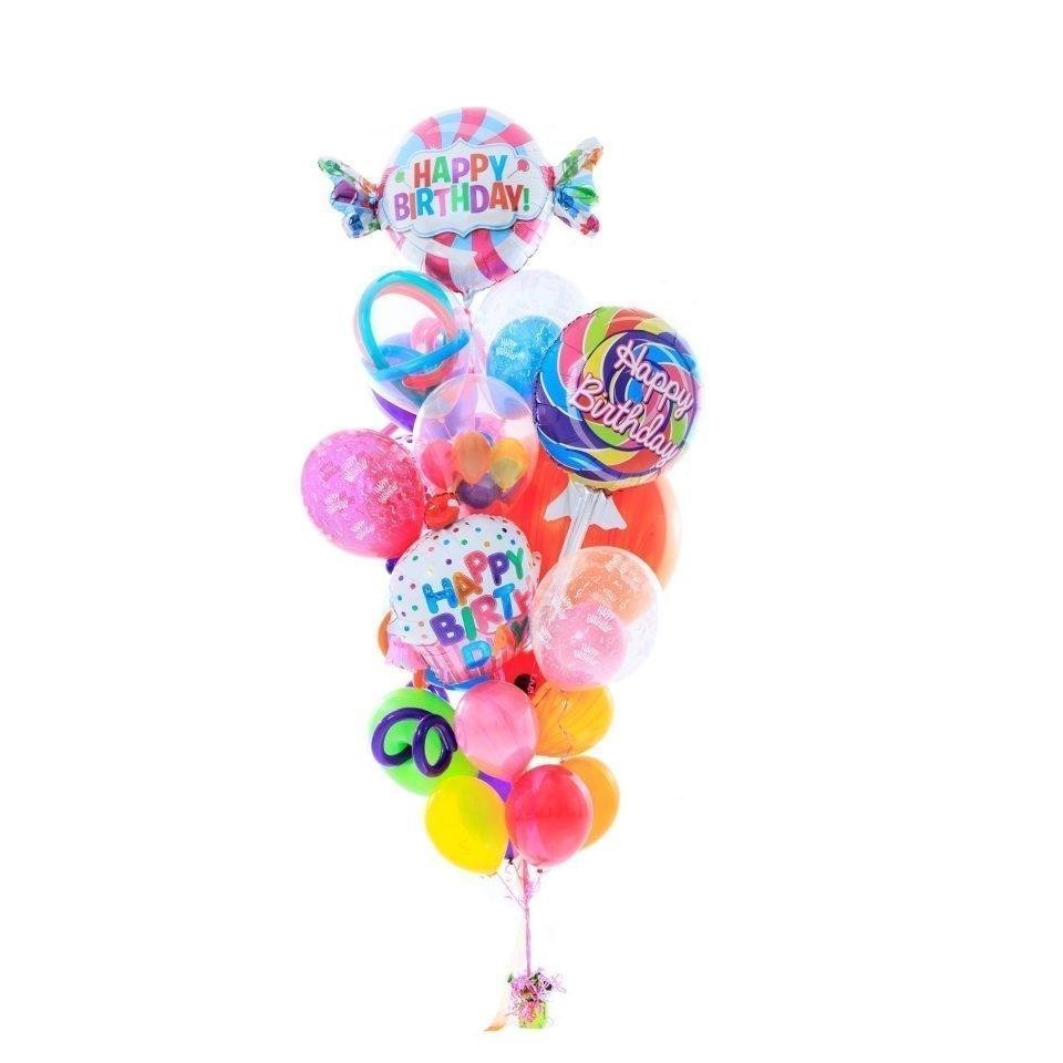 Vibrant Birthday Balloon Bouquet